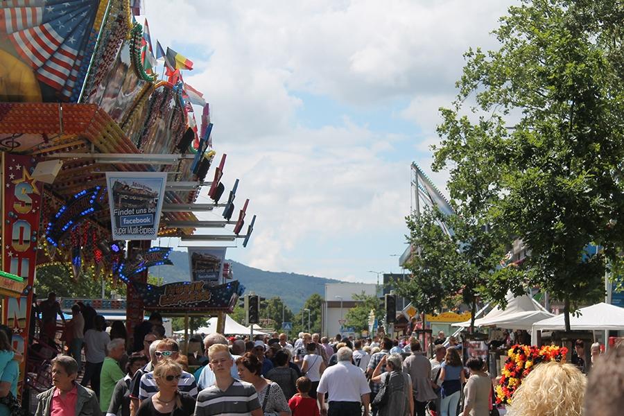 Stadtfest Baunatal, Vergügungsmeile