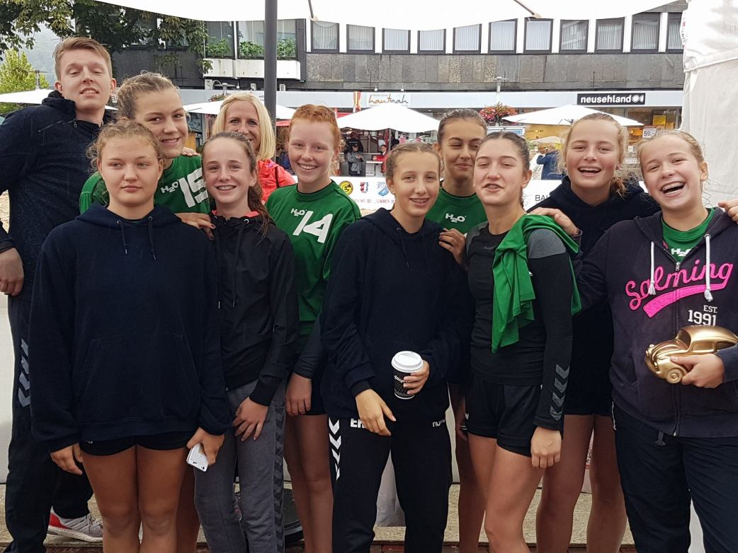 Beachhandball, Baunatal, Summer in the City, Ab in die Mitte Baunatal