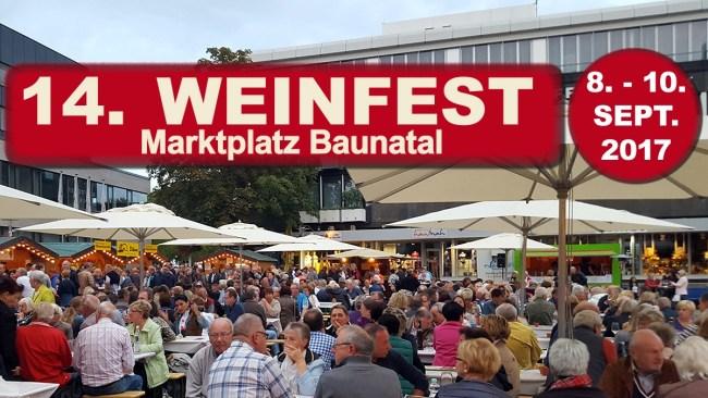 Weinfest Baunatal, Weinfest Baunatal 2017