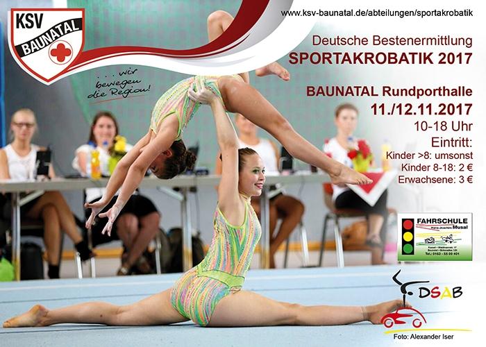 KSV Baunatal Sportakrobatik, deutsche Bestenermittlung Sportakrobatik Baunatal, Nachrichten Baunatal, Baunatal Blog