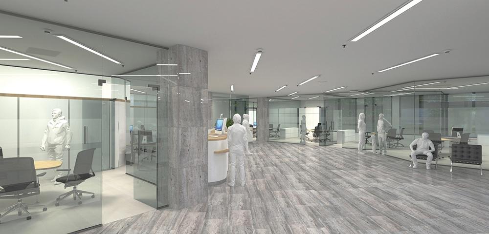 Raiffeisenbank Baunatal baut Hauptstelle um.  Noch mehr Freiraum für Finanzen.