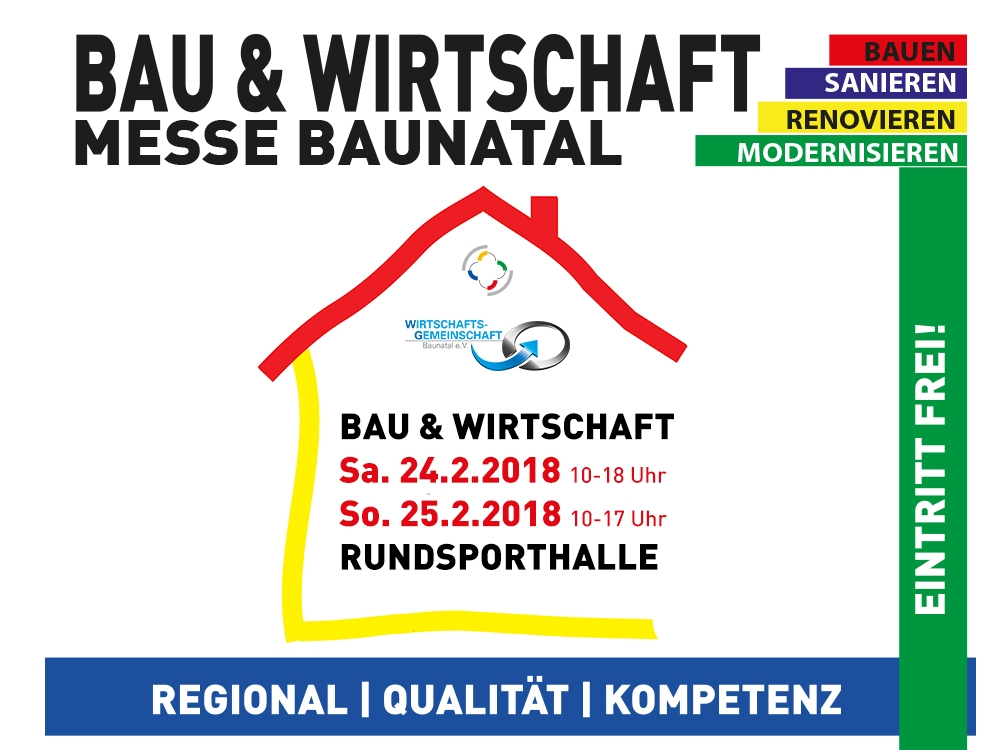 Bau- und Wirtschaftsmesse Baunatal 2018 – Regionale Wirtschaft