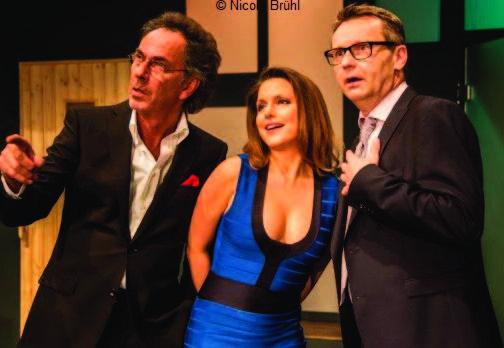 """Hugo Egon Balder und Jeanette Biedermann in der Stadthalle Baunatal mit """"Aufgruss"""""""