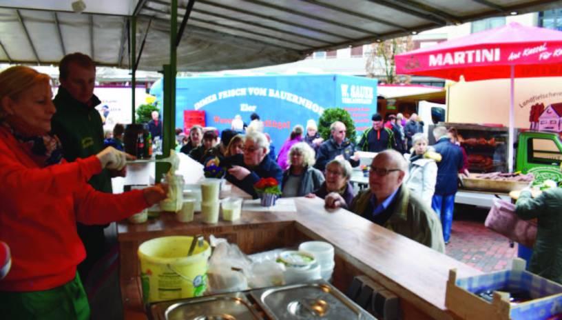 Baunatal, Wochenmarkt Baunatal, Grüne Soße Fest Baunatal