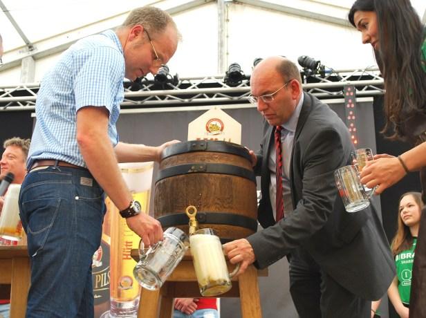 Baunatal, Rengershausen, Hütt-Wandertag, Hüttfest, 31.05.2018,Hütt Brauerei, Stadtmarketing Baunatal