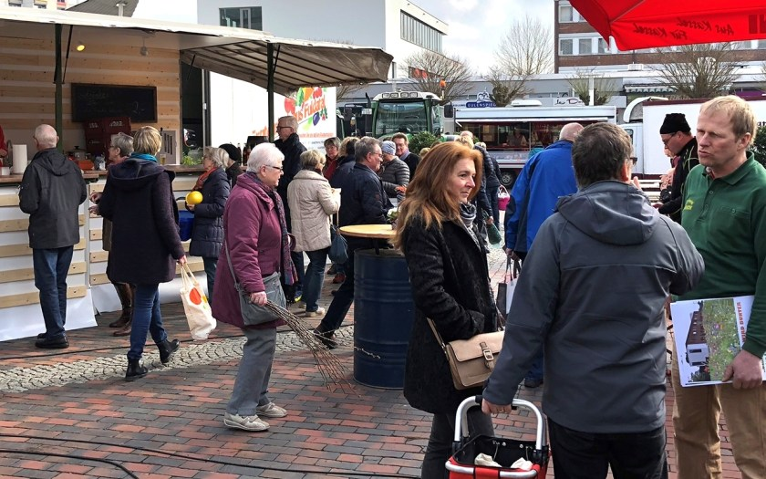 Wochenmarkt Baunatal, Showkochen, Baunataler Wochenmarkt