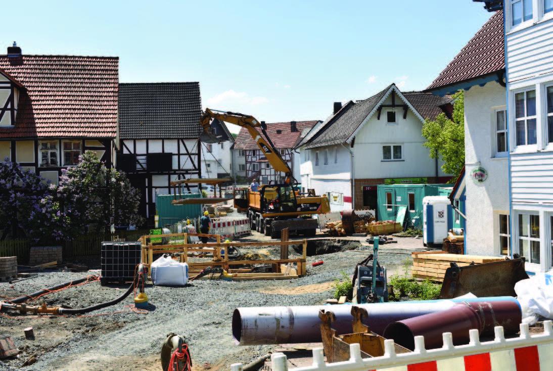 """Rundgang Baustelle """"Unter den Linden"""" in Baunatal -  Großenritte"""