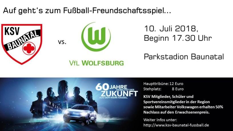 Baunatal, VW Kassel, VfL Wolfsburg, KSV Baunatal, Sportstadt Baunatal