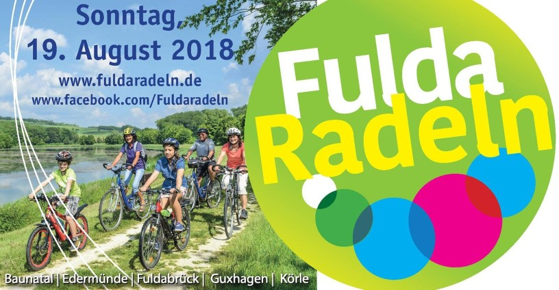 Fuldaradeln, FULDARADELN – die Region von Körle bis Bergshausen entlang der Fulda entdecken