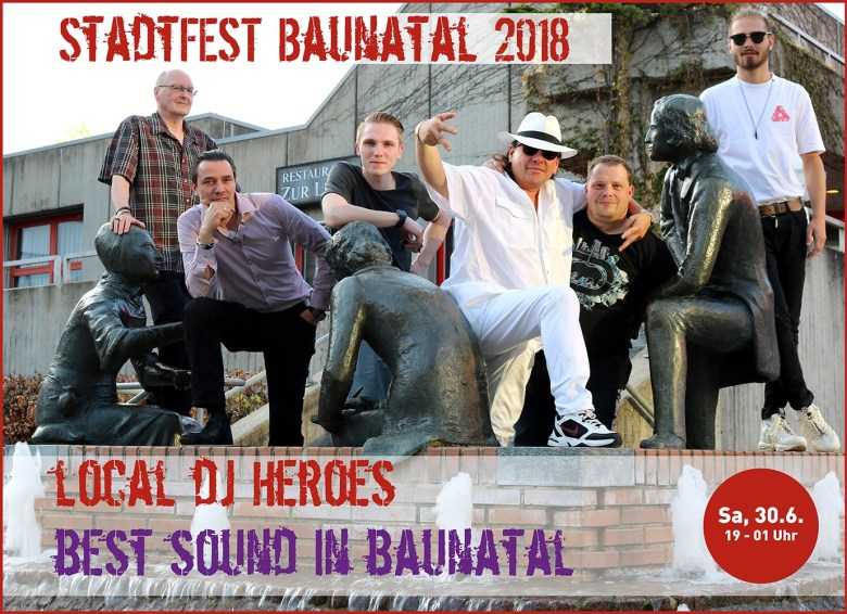 Stadtfest Baunatal, Local DJ Night, Baunatal, #baunatal, Stadtmarketing Baunatal, #stadtmarketingBaunatal