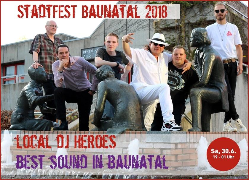 Stadtfest Baunatal, Local DJ Night, Baunatal, #baunatal, Stadtmarketing Baunatal, #stadtmarketingBaunatal