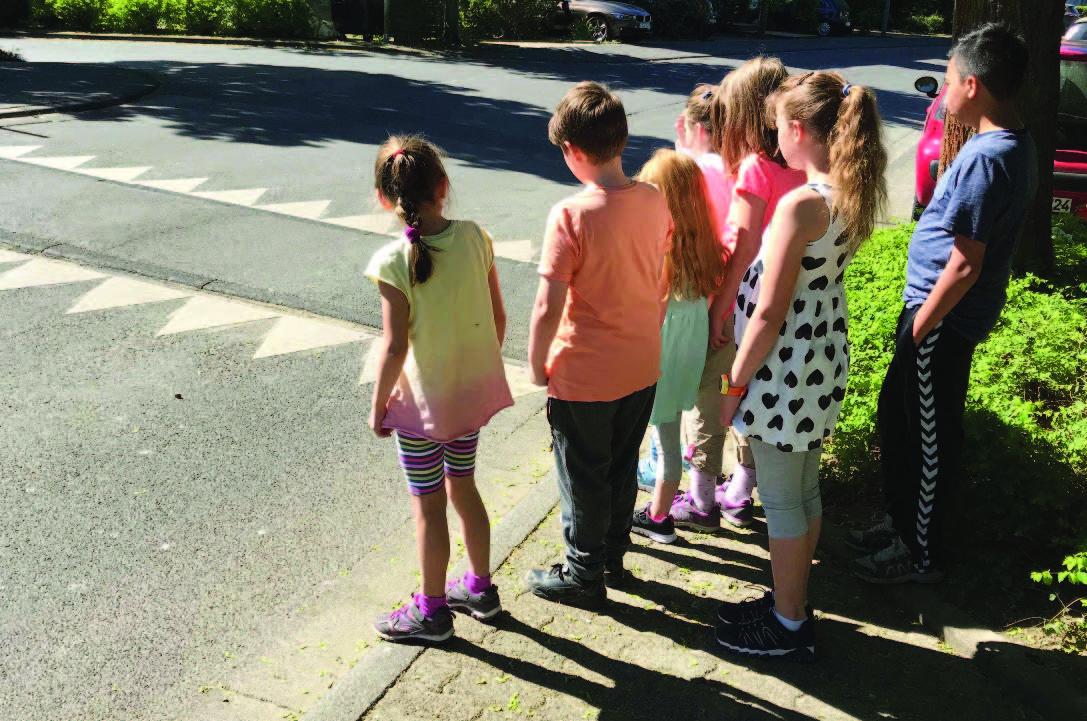 Soziale Stadt Baunsberg-Schulwegprojekt der Friedrich-Ebert-Schule fließen in Konzepte ein