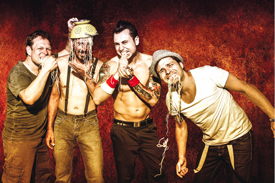 Stadtfest Baunatal - Donnerstag, 28.6.2018 -  Highlight: Psycho Sexy - Tribute to Red Hot Chili Peppers