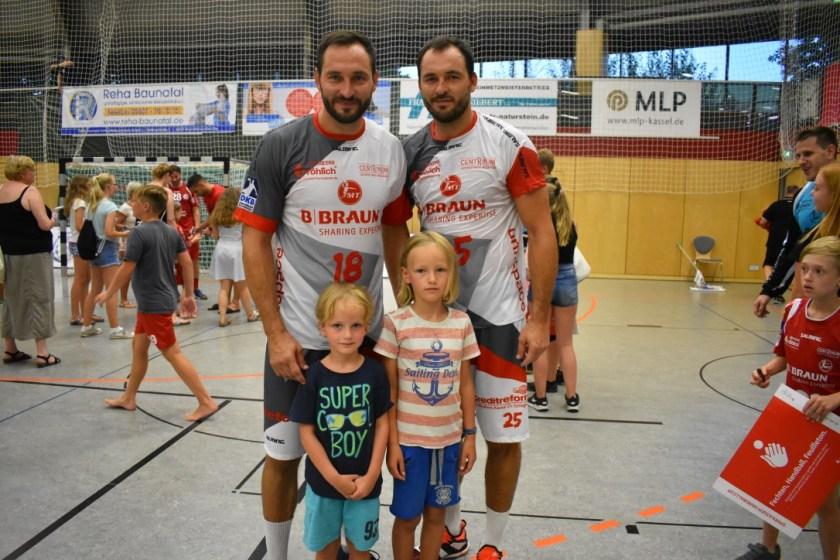 Tag des Handballs Baunatal, GSV Eintracht Baunatal, MT Melsungen