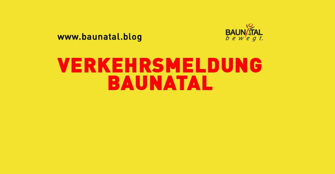 Sperrungen Friedrich-Ebert-Allee und Sciroccokreisel in Baunatal