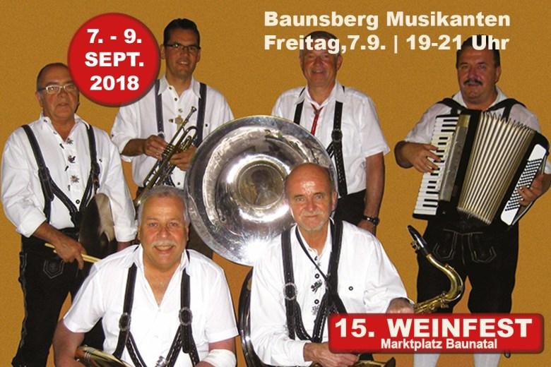 Weinfest Baunatal, 9.9.2018,