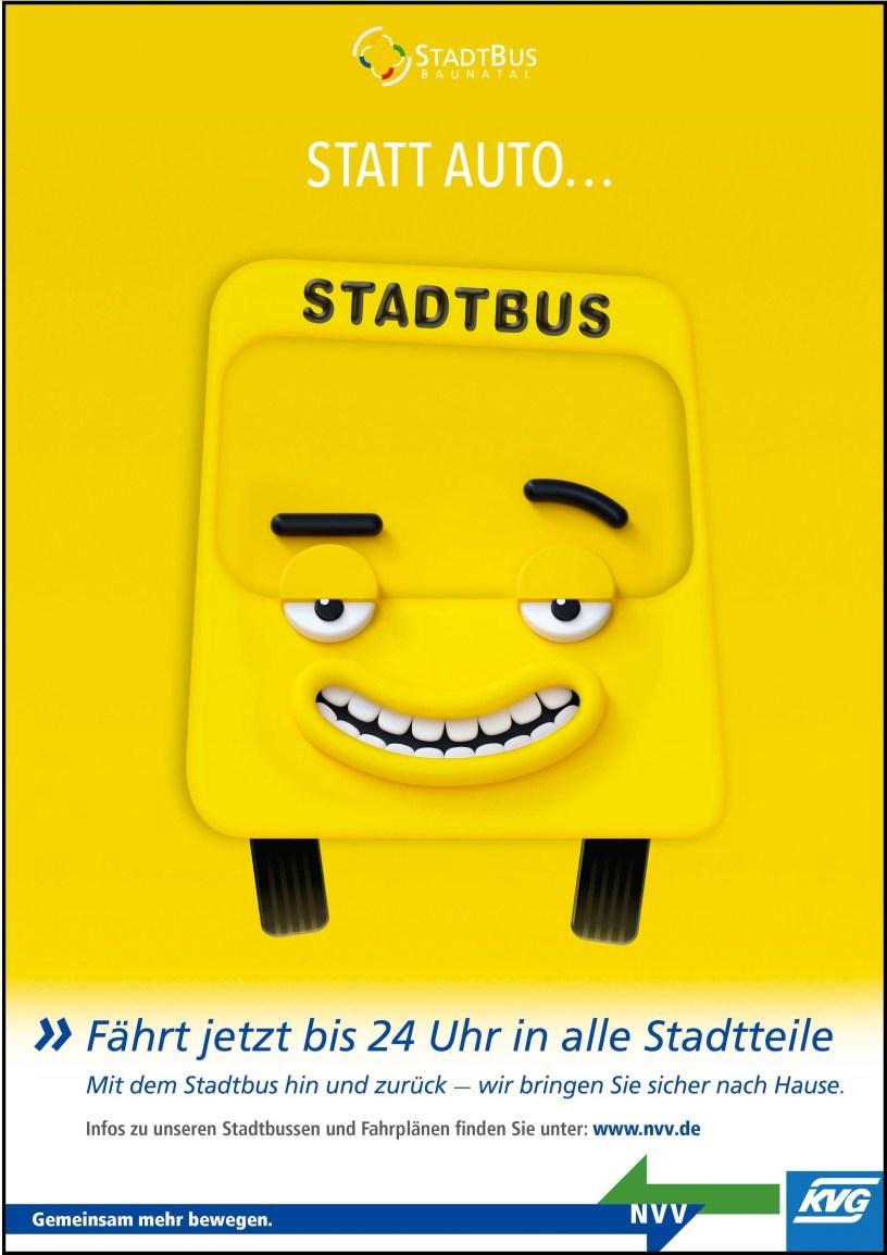 Stadtbus Baunatal, Öffis Baunatal
