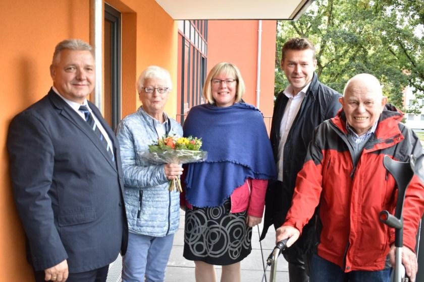 Baunsberg, soziale Stadt Baunsberg, Baunatal, Wohngebiet Baunsberg