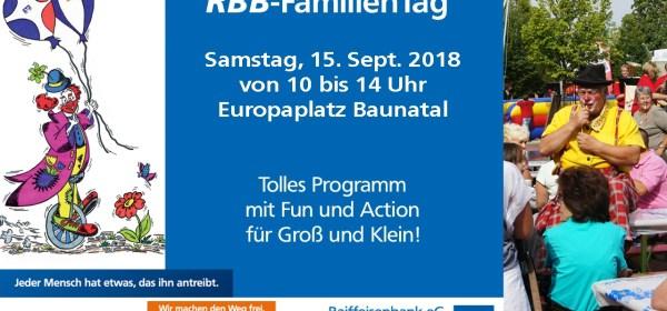 RBB-FamilienTag Baunatal, BaunatalBlog, Raiffeisenbank Baunatal