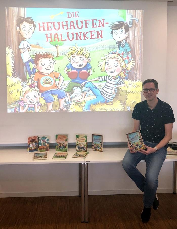 Lesung Sven Gerhardt, Stadtbücherei Baunatal