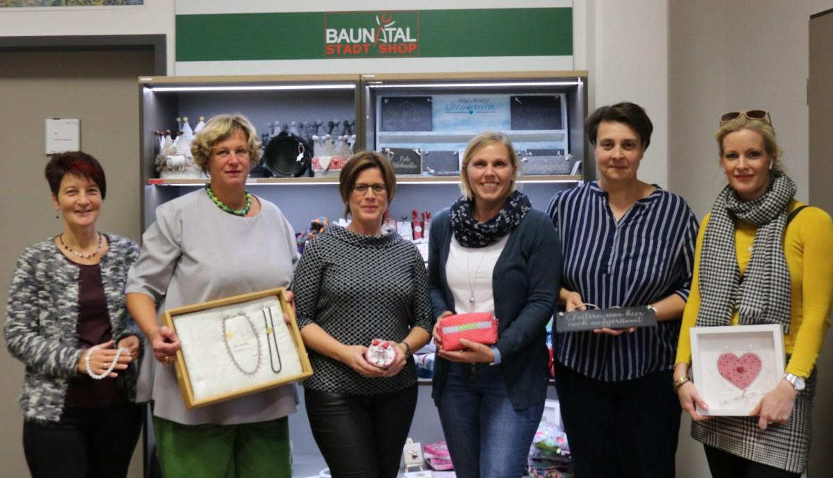 """Frauenpower pur - Geschenke """"Made in Baunatal"""" jetzt im StadtShop"""