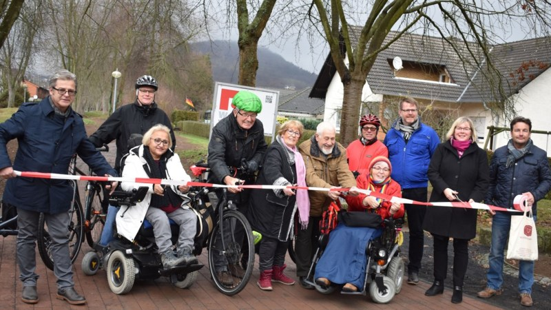Neuer Geh- und Radweg in Altenbauna eingeweiht