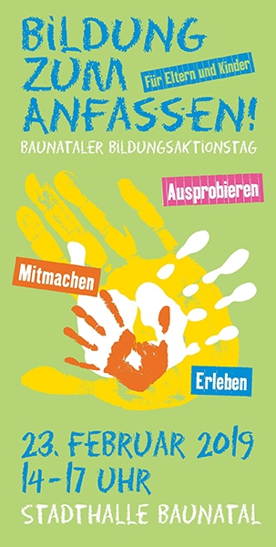 Bildungsaktionstag Baunatal, Baunatal, Bildungskette Baunatal, 23.2.2019
