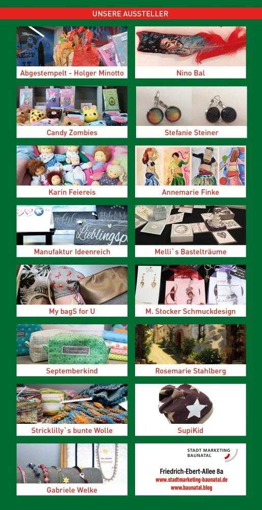 Handmade, Handgemacht!, Kreativmarkt, Stadtmarketing Baunatal, Stadtshop Baunatal, Made in Baunatal