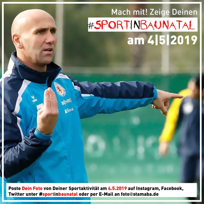 sport in Baunatal, #sportinbaunatal, stadtmarketing Baunatal, 4.5.2019, sportstadt Baunatal, Andre Schubert