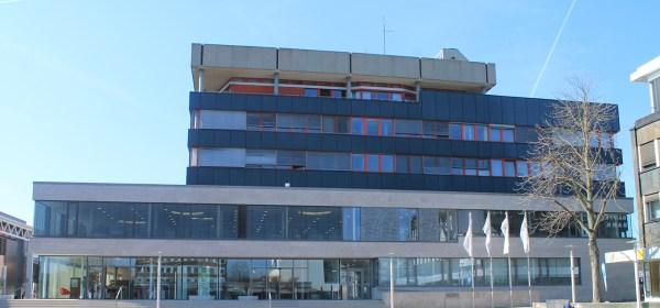 Stadtbücherei Baunatal, Baunatal, Marktplatz Baunatal, Baunatal city