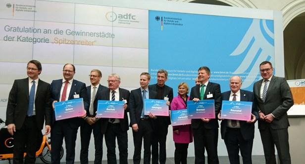 Sport, Baunatal, Berlin, Hessen, Deutschland, Fahrradfreundlichste Stadt, ADFC Fahrradklimatest