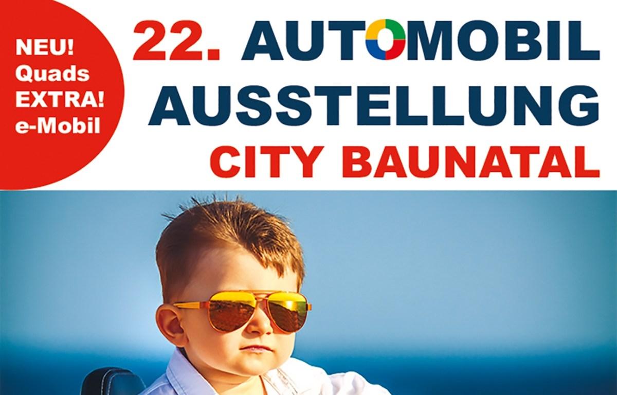 Nordhessens größte Automobilausstellung am 4. und 5. Mai 2019 in Baunatal