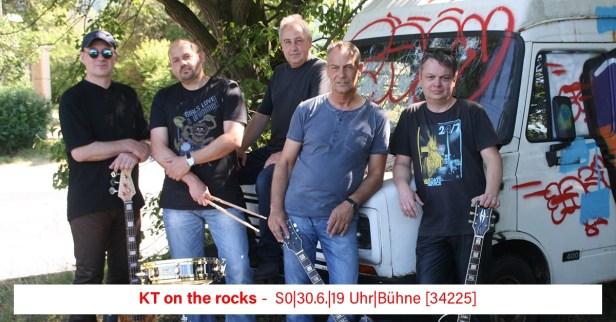 Stadtfest Baunatal, 2019, Kt on the rocks