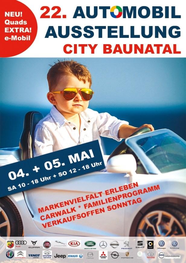 Baunataler Automobilausstellung, BAA, 2019, verkaufsoffener Sonntag
