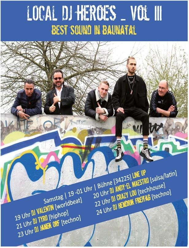Stadtfest Baunatal 2019, Local DJ Heroes, Bühne [34225]