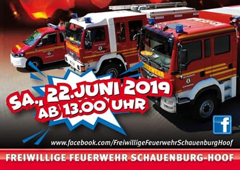 Schauenburg, Freiwillige Feuerwehr SChauenburg-Hoof, Feuerwehr