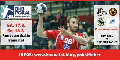 Pokalfieber in Baunatal, KSV Baunatal, VfL Bochum, GSC Eintracht Baunatal, THW KIEL