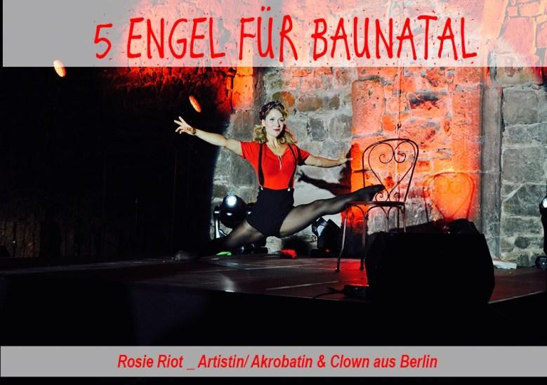 5 Engel für Baunatal, Baunatal, Stadthalle Baunatal, Rosie Riot