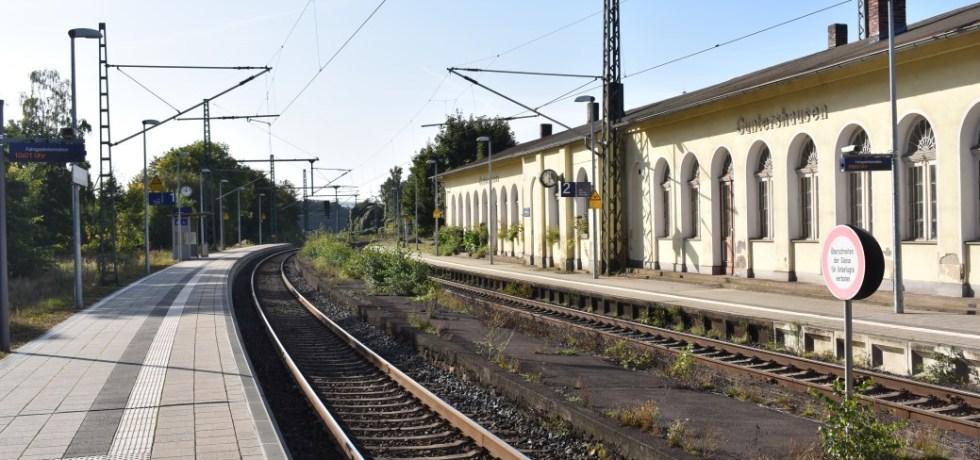 Bahnhof Guntershausen, Baunatal, Barrierefrei, Breitbandausbau, Internet