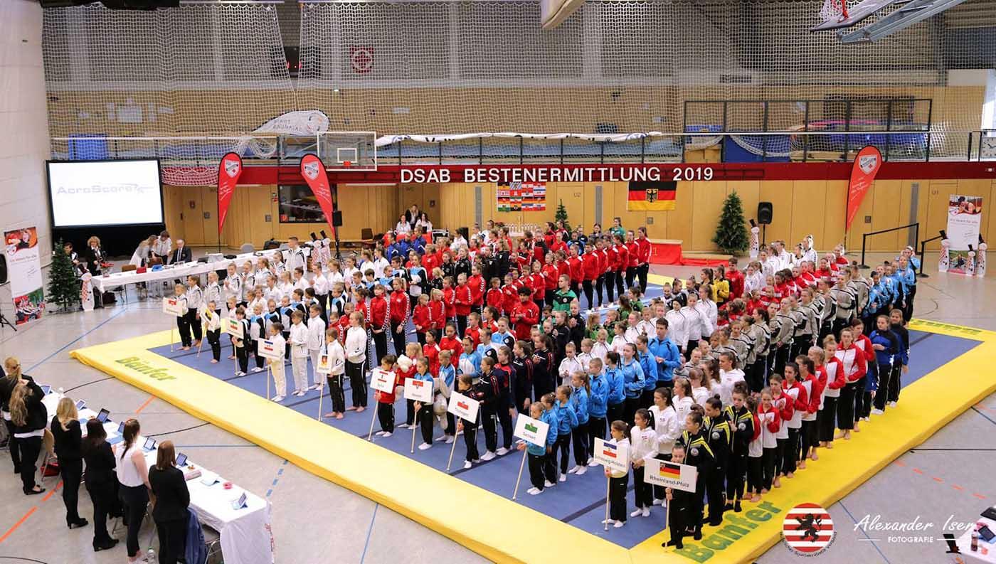 KSV Baunatal Sportakrobatik, rundsporthalle Baunatal, Bestenermittlung, Baunatal, DSAB, Deutschland