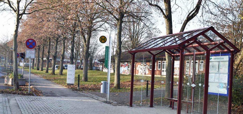 Baunatal, Landkreis Kassel, Bushaltestelle, Buswartehäuschen, Bauarbeiten, Barrierefreiheit, Umbauarbeiten, Stadtteile