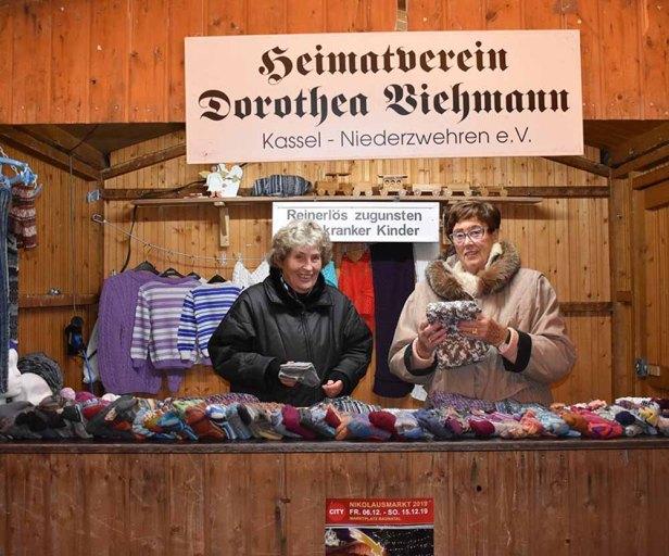 Nikolausmarkt Baunatal, 2019, Stand Dorothea Viehmann