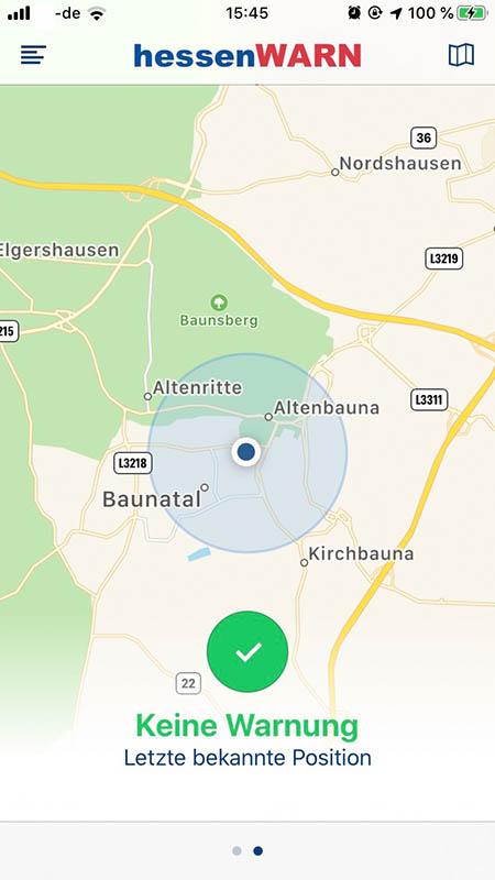 hessenWARN, Baunatal, Hessen