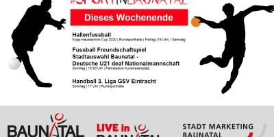 Sportstadt, Baunatal, Nordhessen, GSV Eintracht Baunatal, Fußball, Handball