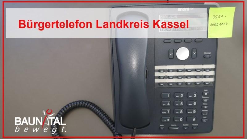 Landkreis Kassel richtet Bürgertelefon ein