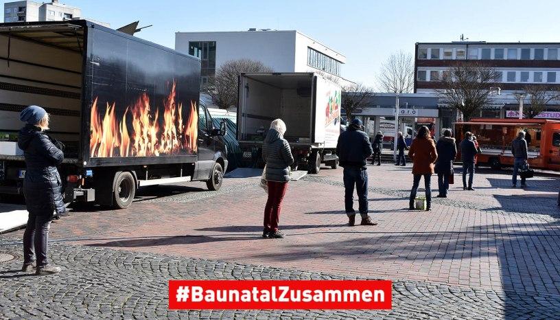 Wochenmarkt Baunatal, Baunatal, Landkreis baunatal, BaunatalZusammen