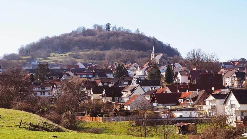 """Wandertipps für Einzelwanderer und Familien """"Ausblick ins Bauna-Tal"""""""