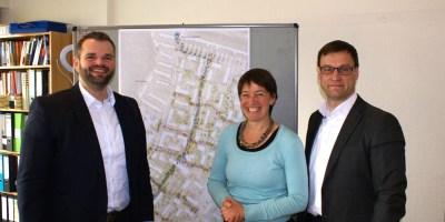 Stadtteilmanagement, Baunsberg, Heide Hoffmann, Daniel jung