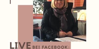Bürgermeisterin Silke Engler, Facebook Sprechstunde
