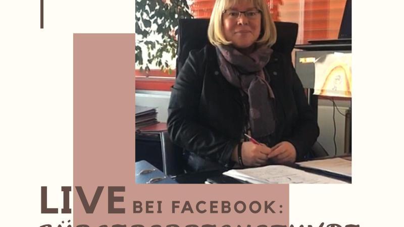 Heute Bürgersprechstunde Bürgermeisterin Silke Engler auf Facebook